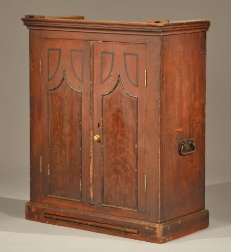 Hanging Wall Cupboard - Hanging Cupboard - Dig Antiques
