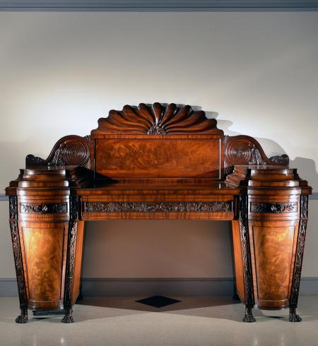 Statuesque Mahogany Sideboard - RD14176