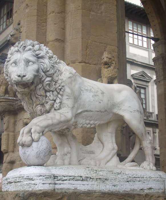 Vacca's Lion One of the Medici Lions