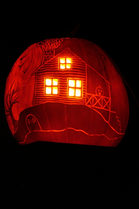 Carved Pumpkin Continued