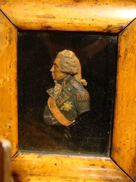 Wax Portrait of Lord Nelson